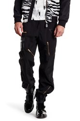 Moschino Zip Accent Pant Black