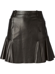 Barbara Bui Flared Hem Mini Skirt Black