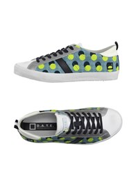 D.A.T.E. Footwear Low Tops And Trainers Men Slate Blue