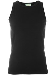 Aries Open Back Tank Women Cotton 2 Black
