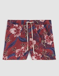 Insight Mutiny Swim Short In Burgundy