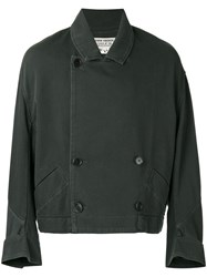 Henrik Vibskov 'Ease' Cropped Coat Green