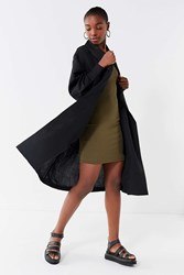 C Meo Collective Director Trench Coat Black