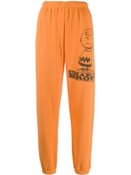 Marc Jacobs Charlie Brown Track Pants Orange