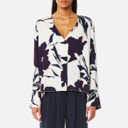 Samsoe And Samsoe Women's Cassandra Top Papier Fleurie Multi