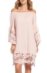 Muche Et Muchette Jolie Lace Accent Cover Up Dress Blush