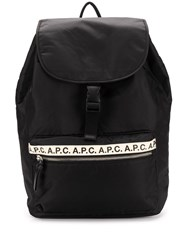 A.P.C. Repeat Logo Backpack 60