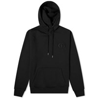 Christian Dior Cd Embroidered Popover Hoody Black