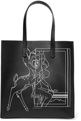 Givenchy Stargate Printed Leather Tote Black
