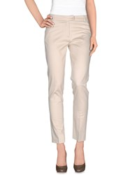 Ekle' Trousers Casual Trousers Women Beige