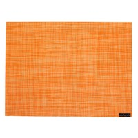 Chilewich Mini Basketweave Rectangle Placemat Clementine
