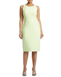 Lafayette 148 New York Alora Sleeveless Sheath Dress Mint