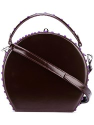 Bertoni 1949 Round Crossbody Bag Brown
