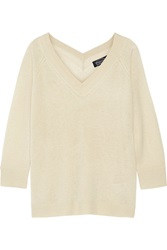 Magaschoni Cashmere Sweater White