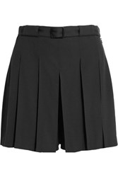 A.P.C. Atelier De Production Et De Creation Soho Pleated Crepe Shorts Black