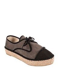 Andre Assous Charlie Espadrille Sneakers Black Grey