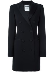 Moschino Tuxedo Dress Black