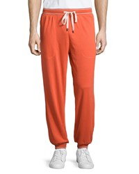 Penguin Jersey Lounge Pants Red Clay