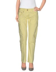 Sexy Woman Trousers Casual Trousers Women Yellow