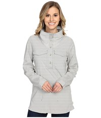 Mountain Hardwear Citypass Long Sleeve Popover Stone Green Women's Long Sleeve Button Up
