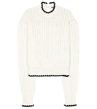Mcq By Alexander Mcqueen Cotton Sweater White