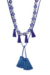 Shourouk Sautoir Mini Tassel Necklace With Crystals Gr. One Size