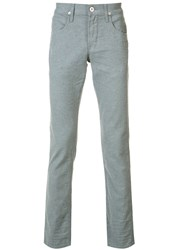 Hudson Slim Fit Chinos Grey