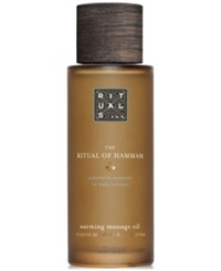 Rituals The Ritual Of Hammam Warming Massage Oil 3.3 Oz. No Color