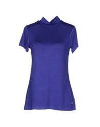Amy Gee T Shirts Dark Purple