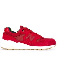 New Balance '580' Sneakers Red