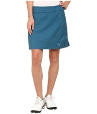 Puma Pleated Skirt Blue Coral Women's Skirt
