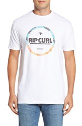 Rip Curl Men's Style Master 17 Premium T Shirt White
