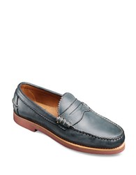 Allen Edmonds Sedona Leather Penny Loafers Navy
