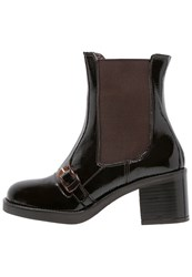 Jeannot Boots Ebano Dark Brown
