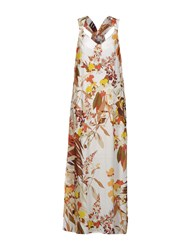 Biancoghiaccio Long Dresses White