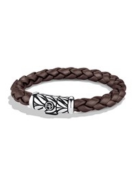 Chevron Bracelet In Brown David Yurman