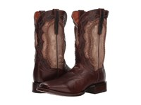 Dan Post Boundary Brass Leather Cowboy Boots Metallic