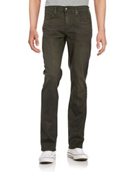 Joe's Jeans The Brixton Straight And Narrow Army Green