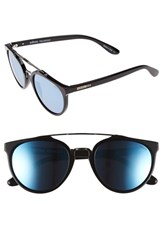 Men's Revo 'Kingston' 52Mm Polarized Sunglasses Black Blue Water