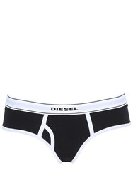 Diesel Cotton Jersey Hipster Briefs
