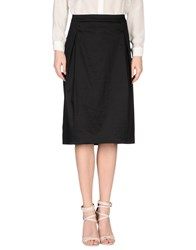 Marella Skirts Knee Length Skirts Women Black