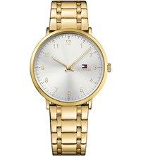 Tommy Hilfiger 1791337 Pvd Gold Plated Watch