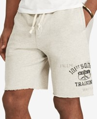 Polo Ralph Lauren Men's Big And Tall Graphic Shorts Gray