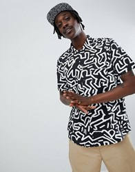 Element X Keith Haring Shirt In Black
