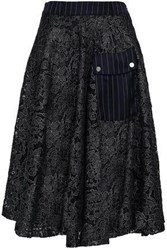 Each X Other Embroidered Tulle Skirt Black