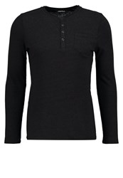 Karl Lagerfeld Long Sleeved Top Black