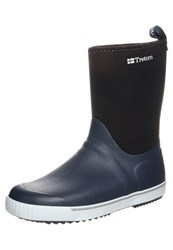 Tretorn Wings Wellies Navy Dark Blue