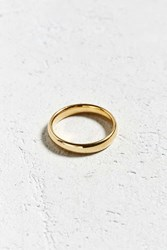 Urban Outfitters Simple Band Ring Gold