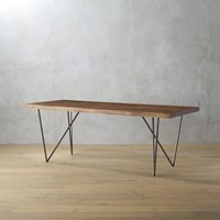 Cb2 Dylan 36''X80''dining Table