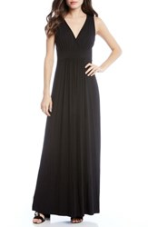 Karen Kane Jersey Knit Maxi Dress Black